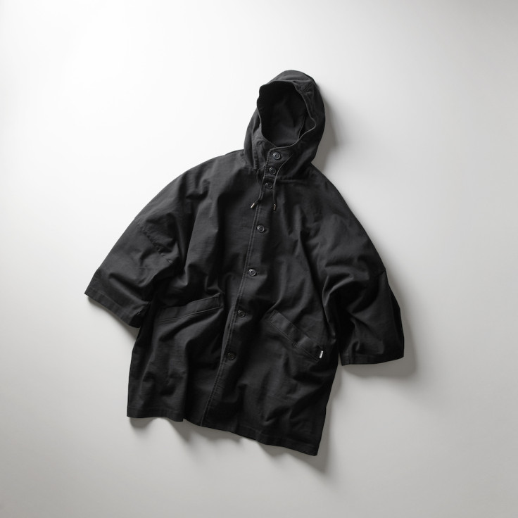 CAPE COAT with RAIN DELIGHT