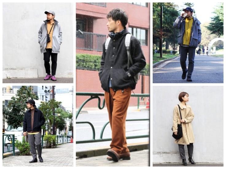 Season's styles in Tokyo