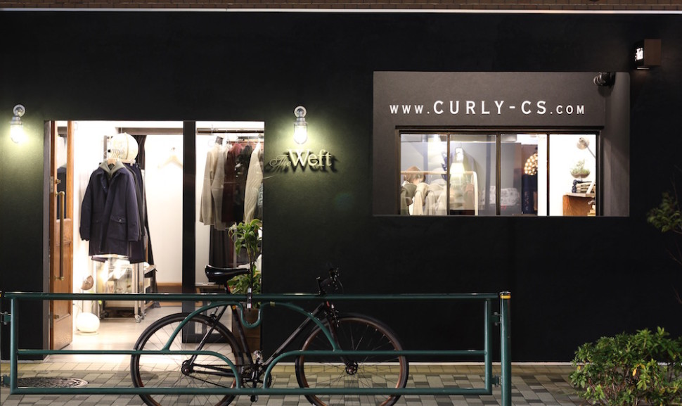 "HEAD STORE ""TheWeft"" in Tokyo."
