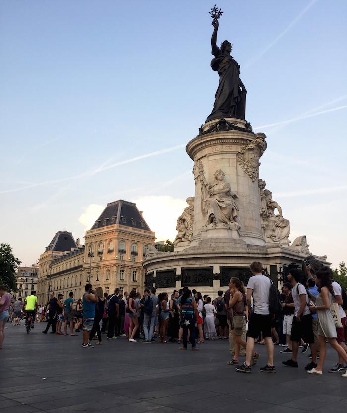 Summer tour in Paris